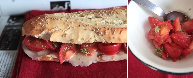 Ricetta Filoncino Siciliano con acciughe, caciocavallo e pomodoro