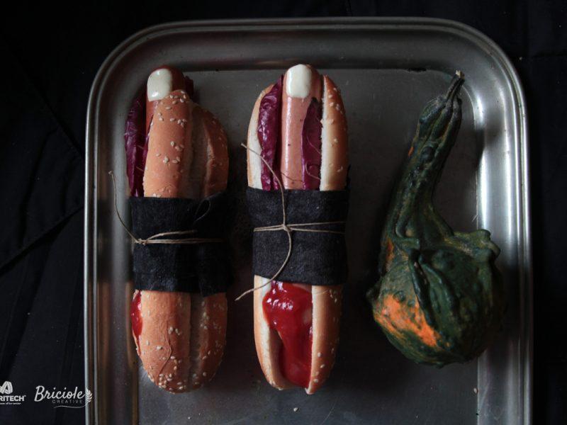 Ricetta Finger Hot Dog per Halloween