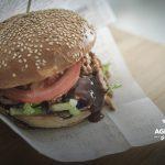 Pulled di tacchino Gourmy Burger con verdure di stagione
