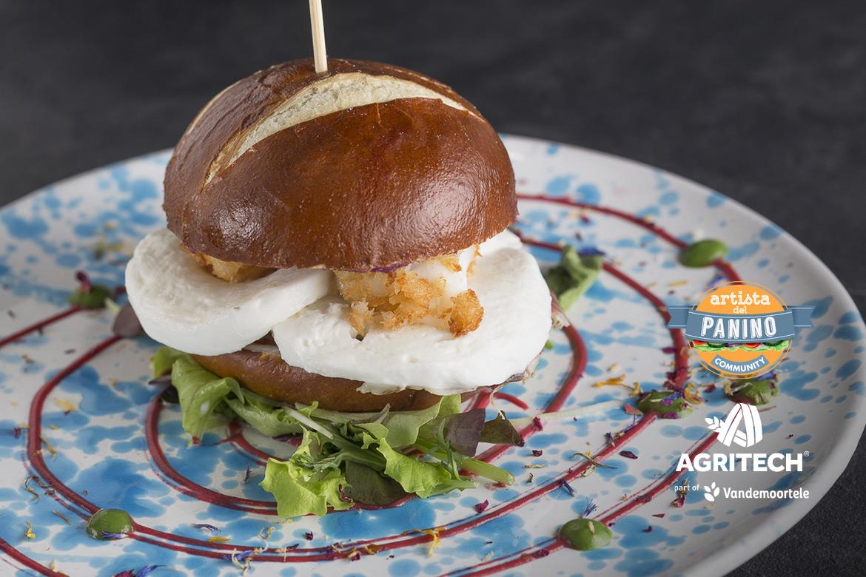 ricetta brezel burger